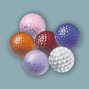 China Crystal Golf Ball (JC018CB) on sale
