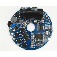 Quality Round Brushless BLDC Motor Driver PWM Frequency 1-20KHZ Duty Cycle 0-100% for sale