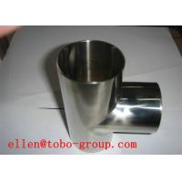 Quality TOBO STEEL Group ASTM A815 WPS31803 straight tee for sale
