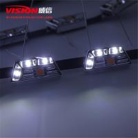 Quality High Quality Wholesale Price Car Accessories 12V Three Color Drl Led Daytime Running Light for Car Retrofit for sale