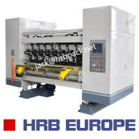 Quality 03 Ply Corrugated Box Machine HRB-150-1800 Automatic 320mm Corrugated Roller for sale