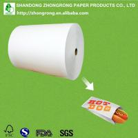Quality environment friendly food packaging paper for sale
