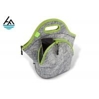 Quality Sublimation Blank Insulated Neoprene Lunch Sack For Outdoor Picnic for sale