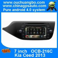 Quality Ouchuangbo Car Navi Multimedia DVD Player for Kia Ceed 2013 S150 Android 4.0 Auto Radio DSP sound-effects OCB-216C for sale
