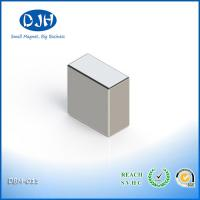 Quality N35 - N52 Grade Rare Earth Magnets Zinc Coating Max Operate Temperature 80 Degree for sale