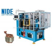 Quality 4 Stations Electric Motor Stator Wire Lace Machine / Blue Coil Lacer Machine for sale