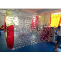 China Human Water Bubble Inflatable Roller Ball 1.0 mm TPU Fun Inflatable Pool Toys on sale