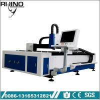 Quality 500W Raycus Fiber Laser Cutting Machine For Steel / Carbon Steel for sale