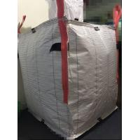 Quality White Big Pp Woven Jumbo Bags Filling Spout Top With Square Bottom for sale