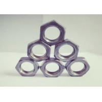 Quality Right Hand / Left Hand Thread M18 Hexagon Nuts Thickness 8.5mm Anti Corrosion for sale