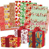 China Metallic Christmas wrapping paper gift wrapping paper Supplier Metallic Foil on sale