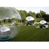 China Outdoor Decoration Inflatable Advertising Balloons Silver Inflatable Mirror Ball wholesale