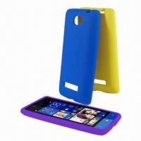 Quality Cellphone Cases for HTC Windows Phone 8S Rio, Made of Silicone, Available in Various Colors for sale