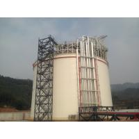 Buy cheap 06Cr19Ni10 Q345R Single Containment LNG Storage Tank Large Gas Storage Tanks from wholesalers