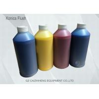 Quality Healthy White Solvent Printing Ink Konica KM 14 PL Liquid Flush Long Life for sale