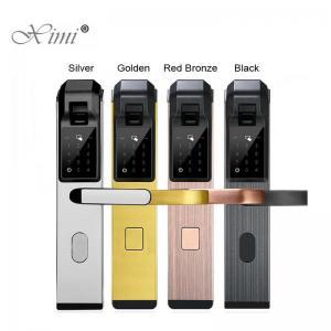 Quality Metal 360° 1S Biometric Fingerprint Door Lock 6V Battery for sale