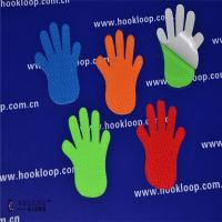 Quality Hands Shaped Self Adhesive Hook And Loop Tape Soft   Sticky Back Fasteners for sale