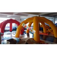 Quality PVC Airtight Frame Tube Legs Inflatable Event Tent For Beach / Car Shelter for sale