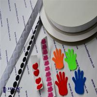 Quality 40% Nylon & 60% Polyester Hook And Loop Tape Self Adhesive , Colored 2 Sided  Tape for sale