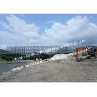 Quality Hot-dip Galvanized Or Painted Corrosion Protection Portable Steel Bridge And Manufacture In China for sale