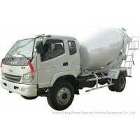 Quality T. King Chassis Concrete Mixer Truck 2 CBM , Ready Mix Cement Trucks for sale