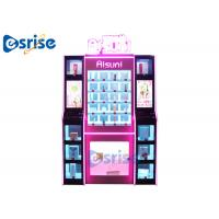 Quality Gift Beauty Vending Machine , Benefit Makeup Vending Machine Hardware Acrylic for sale