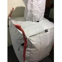 Quality PP Material Empty Tonne Bags , 1 Tonne Bulk Bags With 4 Lifting Loop for sale