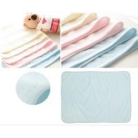 Quality China Wholesale Natural Bamboo Fiber Changing Pad Mat Nappy Diaper for sale