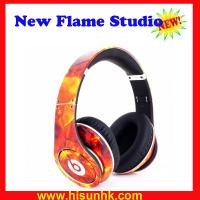 Quality Hot sale red flame beats studio headphones by dr dre with cheap price by DHL/EMS for sale