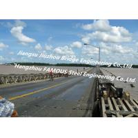 Buy Long Distance City River Crossing Bridge Pre-assembled Multi Span Steel Bailey Construction at wholesale prices