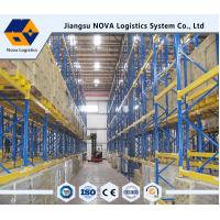 China Warehouse Storage Heavy Duty Pallet Racking System , Loading Capacity 4000kg / Layer on sale