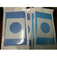 Quality Aperture Round Hole Fenestrated Surgical Drapes Adhesive Tape Tri - Lamination for sale