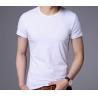 Buy cheap 2018 t shirt custom logo printed printing high quality 100% cotton man tshirt from wholesalers