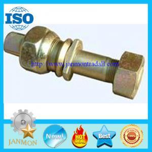 Quality Zinc galvanized hub bolt with nut,Zinc plated wheel bolt with nut,Auto bolt&nut,Auto Hub bolt&nut,Auto Wheel bolt&nut for sale