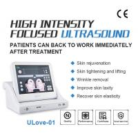 Quality Best Anti Wrinkle SMAS Ultrasonic HIFU Machine with 10000 Shots / High Intensity Focused Ultrasound for sale
