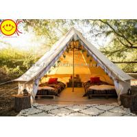 Quality Multifunctional Outdoor Canvas Inflatable Tent 4m 5m Saraha Camping Tipi Tent for sale