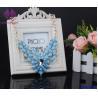 Buy cheap Women Crystal Rhinestone Flower stone Choker Statement Shining glass bead from wholesalers