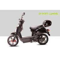 China Black 25KM - 32KM / H Electric Gear Motor Scooters 500W 16 X 3.0 Disc Brake with CE, RoHS on sale