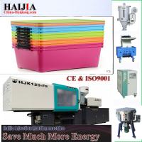 Quality plastic boxes storage making machine Plastic Injection Molding Machine plastic folding storage boxes industrial for sale