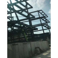 Quality Warehouse Multi Storey Light Steel Frame Construction Grey Q235B for sale