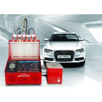 Quality Engine Electronic Fuel Injector Tester Cleaner Small Size 4700ml Fuel Tank for sale