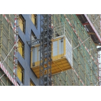 Quality Construction Site 60M / Min Material Rack And Pinion Lift for sale