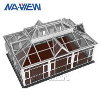 China Aluminium Summer House Vaulted Ceiling Sunroom Easy To Clean With Water on sale