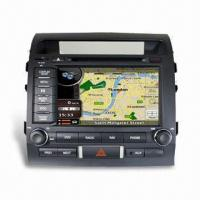 China In-dash Car GPS for Toyota Land Cruiser 200, Supports Prepositive and Rear-view Camera on sale