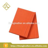 Top quality customize A4 / B5 / A5 / A6 Pu leather Notebook with elastic band