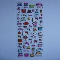 Quality 3D Foam Sticker, OEM Orders Welcomed, 7 x 18cm Sized for sale
