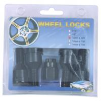 China wheel locks with key,4 bolts +1key for one set on sale