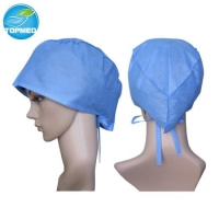 Quality disposable surgical cap medical cap for hospital use non woven for sale