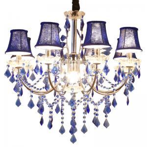 Quality Modern style Sliver metal hanging candelabra chandelier lighting (WH-MI-75) for sale