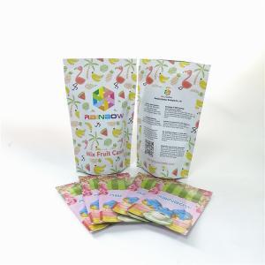 China Tea Packaging Laminated Foil CMYK Mylar Zipper Bags on sale